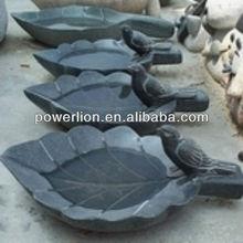 black granite birdbaths