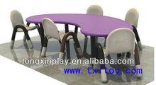 Mesas para bebés de dibujos animados txl-139b mesas