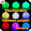 Halloween plastic pumpkin artificial pumpkin,artificial white pumpkin