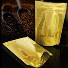 aluminum foil side gusset bag for espresso ground coffee