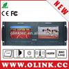 CCTV rackmount HDMI, VGA LCD monitor, 2U, 19 inch