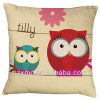 Fashion decorative bench canvas cushion covers