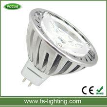 led lamp mr 16 12v 3w 3leds warm white led light