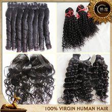 New arrival best selling virgin human hair wholesale model model hair extension wholesale