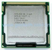 Inte CPU Core I5 660 SLBTK/SLBLV 1156PIN