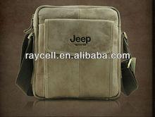 Hot sale factory direct supply fashion genuine leather men handbag