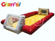 inflatable football pitch for outdoor competition