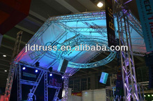 tube aluminum 6061-T6 triangle truss lighting truss circle