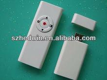 Free red laser pointer -- Wireless Presentation Slide
