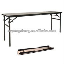 New Style Spring Honeycomb Top Folding Eating Table