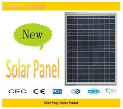 50w watt photovoltaic solar panel