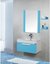 Sea blue favorable design bathroom vanity units