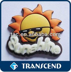 Promotional soft PVC 3d fridge magnet/pvc fridge magnet/pvc magnets for fridge