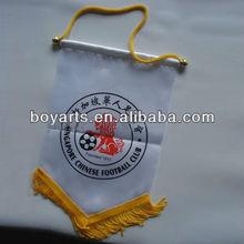 soccer pennant flag
