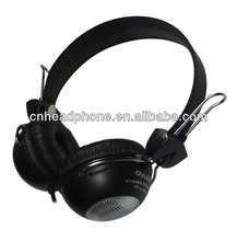 Best Quality DJ stereo leather headphone with logo