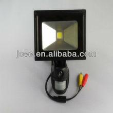 led light pir sensor with 5.0M video camera