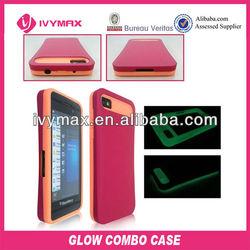 glow combo case for z10 blackberry mobile phones