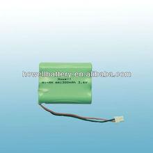 AA 1300mAh nimh battery pack