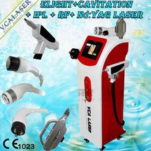 4 In 1 Cavitation Elight RF ndyag Laser Tattoo Removal Multifunctional Beauty Equipment