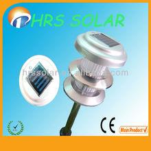 CE, ROHS, Alminum Garden Light New Design,China 3 floor solar garden lamp