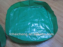 green color pe tarpaulin for hay tarps and trailer cover