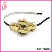 2013 cute Korea style crystal baby headband