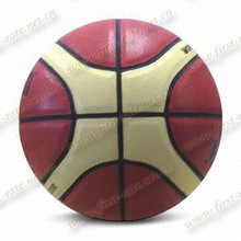 High quality 7# leather basketball