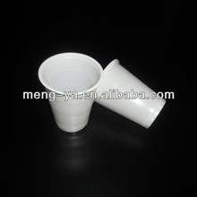 White PP Disposable Rolled Edge Plastic Cup 8 OZ For Beverage