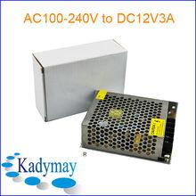 Modern&Adjustable 3A 12V DC Power Adaptor, By best Manufacturer&Supplier
