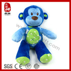 23cm blue stuffed plush monkey toy for baby