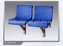 2013 best sell wholesale stadium seating blowing molded chairs HBYC-11/stdiun manufacturer in china