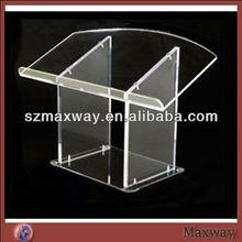 customized acrylic podium/lectern/pulpit,church speech podium