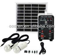 2013 new 5W 10W 15W economic cheap price solar kit