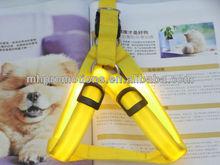 Strap Series LED fiber optic light-emitting pet dog collar