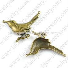 metal bird charms to make jewelry