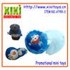 4.4Cm Wholesale Customized Plastic Cartoon Promotion Gift Toy