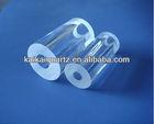 clear quartz glass thick wall tube