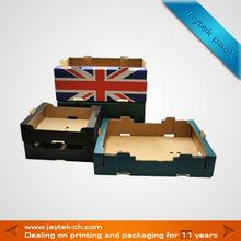 England national flag fruit packaging