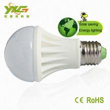 12v solar led bulb e27 a60 5w 450-500lm cool white warm white