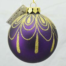 Popular christmas glass ball ornaments