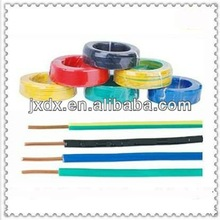 single core wires and cables power cable for house wiring semi-flexible&stranded copper CCC BVR 450/750V
