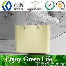 fashionable shoulder bags online supplier /silicone handbags
