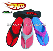 Promotional wedding foam flip flops sandals for woman