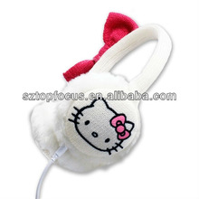 New Fasion Knitted Earmuffs With Speaker Earphone Headphone Built In