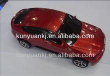 Hot Sales car shape speaker mini music box ,portable car speaker BMW X6 for Christmas gift