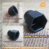 plastic plug black color