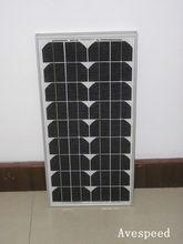 Durable 180W-210W mono solar panel modules