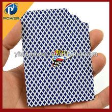 Ripped and restored card corner magic trick