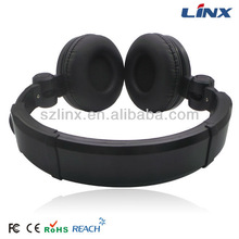 Foldable stereo headset mp3 player