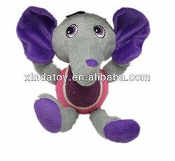 Plush elephant tennis Pet toy